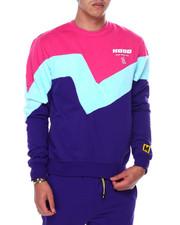 Buyers Picks - Colorblock Hood Crewneck Sweatshirt-2448660