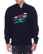 Diamond Supply Co - DMND X KEITH HARING GO FAST WOOL JACKET-2448568