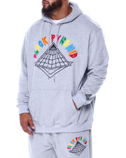 Hoodies - Colors Drip Logo Hoody (B&T)-2447553