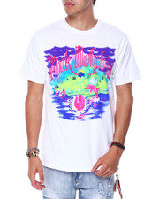 Pink Dolphin - SMOKEY WATERS V2 TEE-2448406