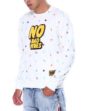 Buyers Picks - No Bad Vibes Crewneck sweatshirt-2448688