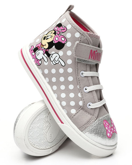 La Galleria - Minnie Mouse High Top Sneakers (7-12)