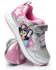 Girls - Minnie Mouse Light-Up Sneakers (6-12)-2447403