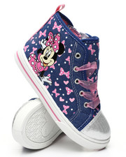 Pre-School (4 yrs+) - Minnie Mouse High Top Sneakers (7-12)-2447412