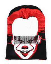 Fashion Lab - It Pennywise Mask Beanie-2448305
