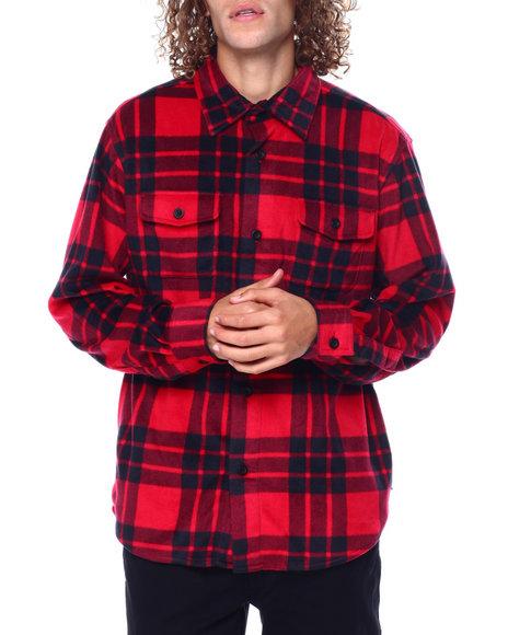 Chaps - Microfleece Shirt Jacket
