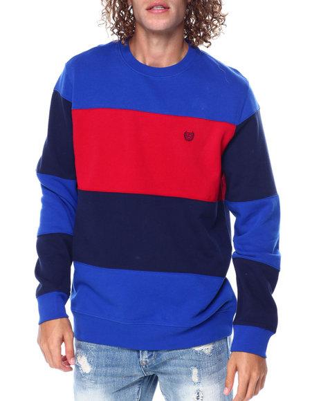 Chaps - Colorblock Crewneck Sweatshirt