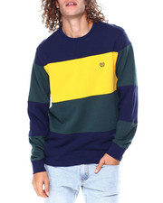 Chaps - Colorblock Crewneck Sweatshirt-2450235