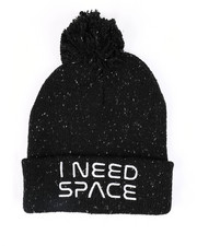Fashion Lab - Nasa I Need Space Knit Beanie-2448298