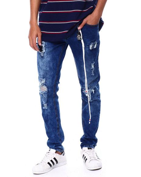 Buyers Picks - Rip and Repair Burnt Blue Jean