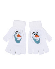 Girls - Frozen 2 Olaf Fingerless Gloves-2448112