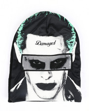 Hats - Suicide Squad Joker Roll Down Mask Beanie-2448306