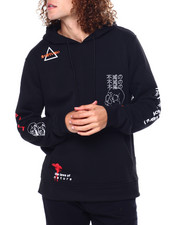 Buyers Picks - TIME NOW DOODLE PRINT7 Embroidered HOODIE-2450114