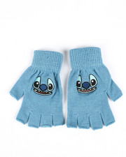 Girls - Stitch Fingerless Gloves-2448168