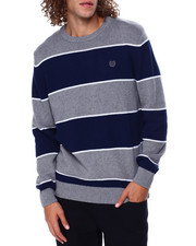 Sweatshirts & Sweaters - Stripe Crewneck Sweater-2448949