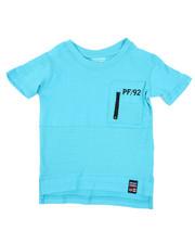 Phat Farm - Pintuck Zip Front PCKT Crew Tee (2T-4T)-2444756
