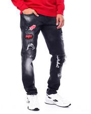 Jeans & Pants - Sweet Treats Patch Jeans w Bee Pin-2449384