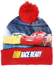 Hats - Cars 3 Race Ready Cuff Pom Beanie-2448292