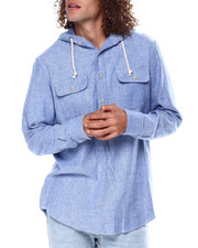 Stylist Picks - Herringbone Popover LS Knit w Hood-2450296