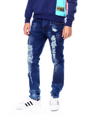 Jeans & Pants - Ink Splatter Stretch Jean-2448796
