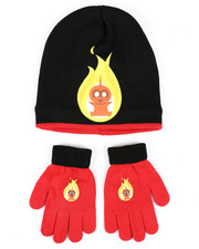 Hats - Incredibles 2 Jack-Jack Beanie & Gloves Set-2448289