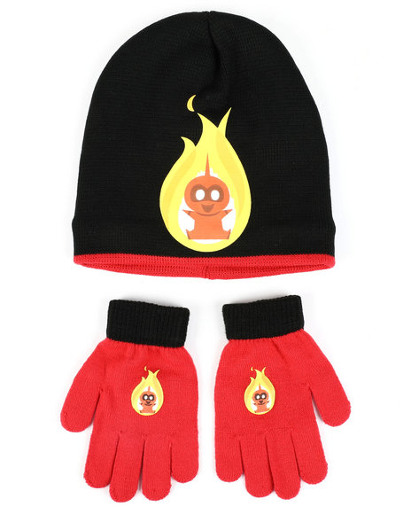 Arcade Styles - Incredibles 2 Jack-Jack Beanie & Gloves Set