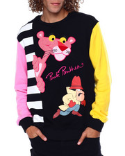 Sweatshirts & Sweaters - Pink Panther Looking Out Crewneck-2449247