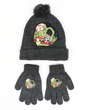 Hats - Madballs Monster Pom Beanie & Gloves Set-2448286
