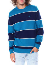 Sweatshirts & Sweaters - Stripe Crewneck Sweater-2450147