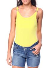 Bodysuits - S/L Scoop Nk Thong Bodysuit W/Ring Detail-2449689