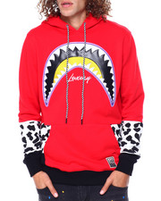 Hudson NYC - Shark Mouth Leopard Hoody-2449305
