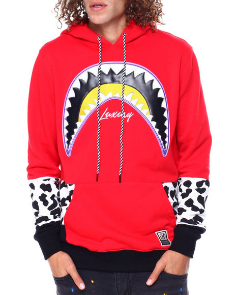 Hudson NYC - Shark Mouth Leopard Hoody