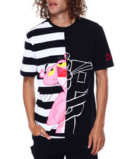 Hudson NYC - Pink Panther Split Sketch Shirt-2449345
