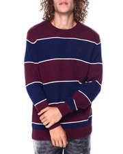 Sweatshirts & Sweaters - Stripe Crewneck Sweater-2448955