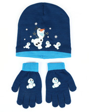 Hats - Frozen Olaf Beanie & Gloves Set-2448283