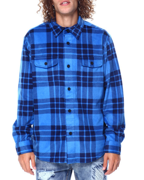 Chaps - Microfleece Shirt Jacket
