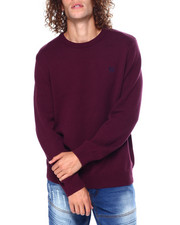 Sweatshirts & Sweaters - CREWNECK LONG SLEEVE Cotton SWEATER-2450129
