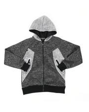 Hoodies - Poly Interlock Hoodie (8-18)-2443185