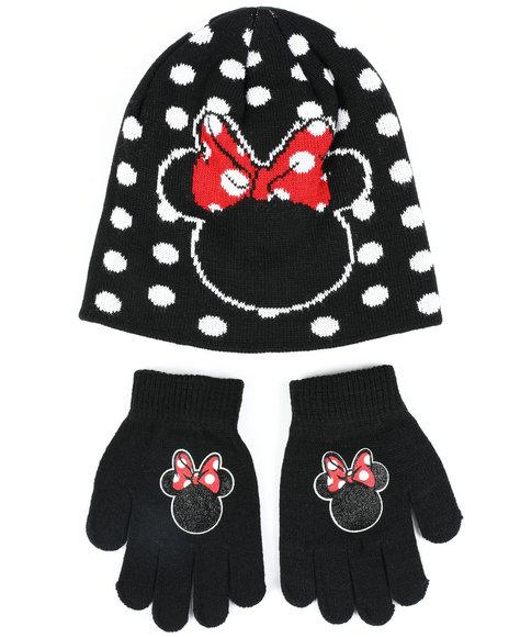 La Galleria - Minnie Beanie & Gloves Set