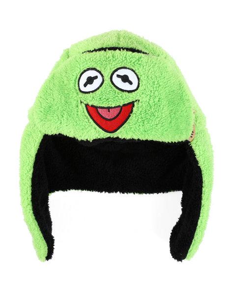Arcade Styles - Muppets Kermit Faux Fur Reversible Hat