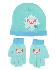 Hats - Moana Knit Beanie & Gloves Set-2448291
