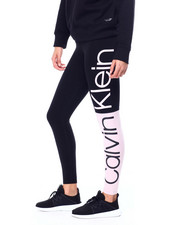 Calvin Klein - Jumbo Logo Colorblock High Waist Full Length Legging-2449870