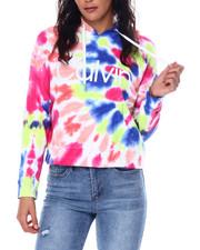Calvin Klein - CK Logo Tie Dye Boxy Pullover Hoodie-2449835