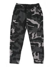 Arcade Styles - Stretch Printed Camo Moto Twill Jogger Pants (4-7)-2444822