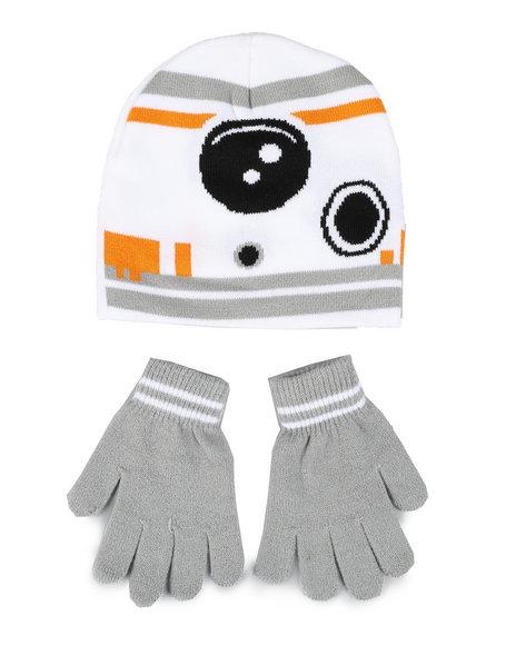 Arcade Styles - Star Wars BB-8 Beanie & Gloves Set