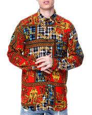 Button-downs - Plaid Chains Shirt-2450368