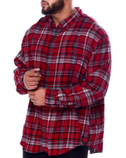 Big & Tall Faves - L/S Fireside Flannel (B&T)-2447670
