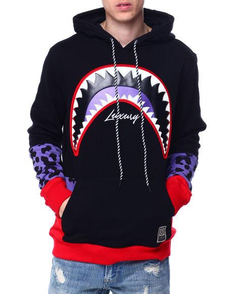 Hudson NYC - Shark Mouth Leopard Hoody