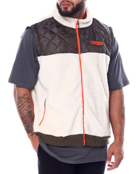 Akademiks - Quilted Vest (B&T)