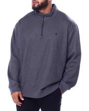 Izod - L/S Advantage Solid 1/4 Zip Sweater-2448524